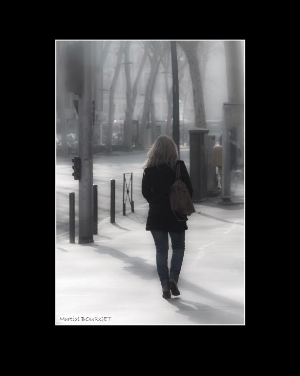 27- Cette inconnue qui passe - Martial Bourget
