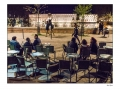 Terrasse du café la nuit (clin d'œil à Van Gogh)